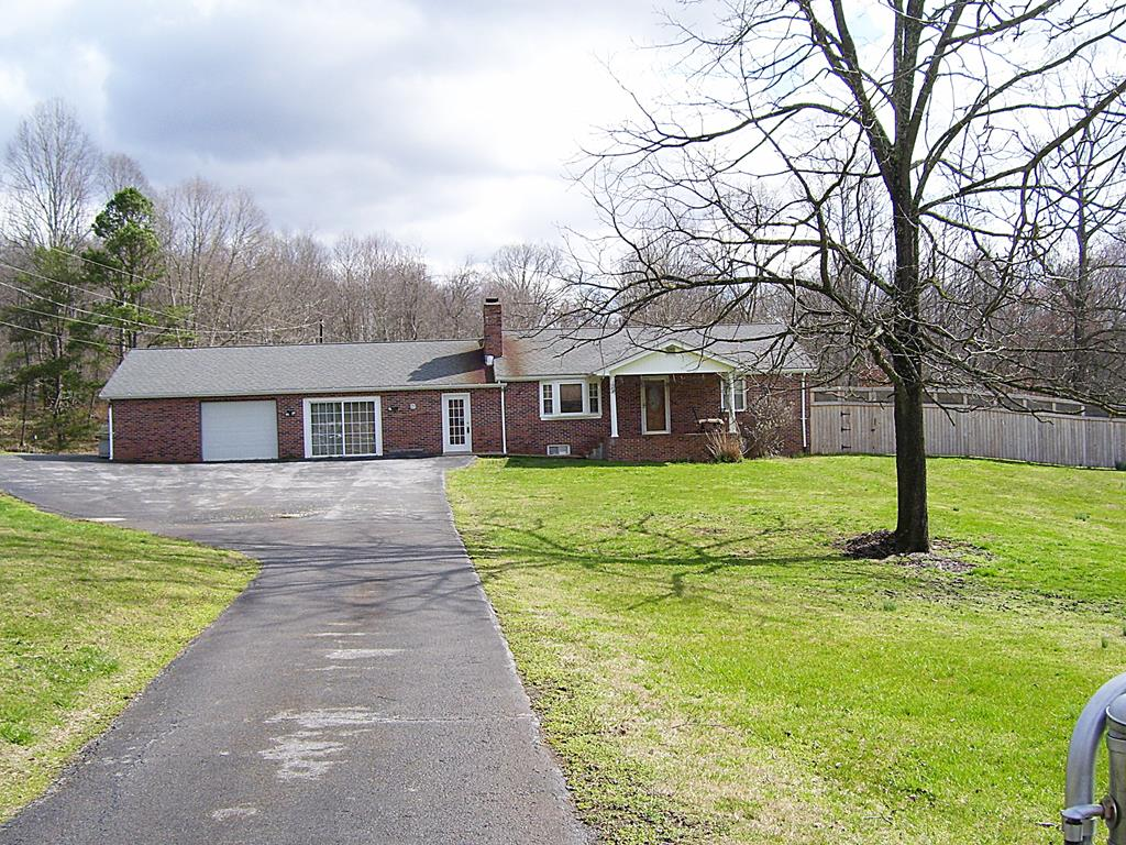 Located in Washington County, Features: all hardwood, floating floor and tile floors in baths, Oak Kitchen Cabinets, Wood Insert in Living room, Large wood Furn. in basement that is tied into Duck work of the house, 3 propane gas heaters with 1,000 gallon tank, 2 heat pumps, 2 water heaters, a large master suite with bath, well water 2 year old pump - County water coming in May of this year, All new Kitchen Appliances, Chain link gated front fenced yard, Remodeled Bath, Large basement area with half bath that could be used for more finished are storage/work area or the Man Cave, Paved drive goes all the way around to a large shed area 22 x 30 plenty of parking space for 2-3 vehicles,an area of woods and small creek, and a Fenced in above ground pool area.A must see,  Don't wait to View this Home !!!