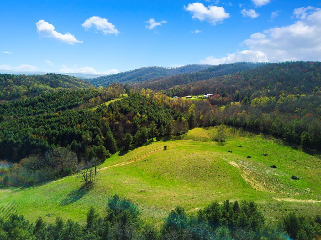 Rare find for those who enjoy the outdoors and privacy! This 95 acre tract adjoins the back side of 16,000 acres of land owned by BoyScout of America (Camp Powhatan), giving you amazing amounts of privacy and an abundance of wildlife in the area! This property also has approx 1,700 feet of creek frontage, and the perfect site to build a pond. And you have to come see the views to believe them...build your dream home in this country setting. Approx 70 acres of woodland for you to enjoy, while still having plenty of cleared land. Would be an amazing horse property! There is so much potential for using this property for either building a home, recreational use, or agricultural use...you have to come check it out for yourself and see what will be right for you! If you get permission from the BSA you could potentially have access to thousands of acres right in your backyard. Private, country living while still being convenient to multiple towns, with Blacksburg/Cburg just 25 miles away