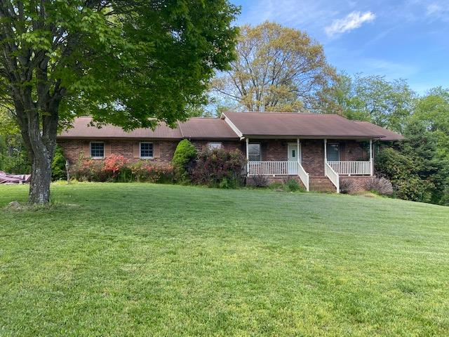 Here's a rare find...a charming 3 bedroom brick Ranch situated on over 5 acres of land with beautiful mountain views, many level areas and located just minutes from I-77/I-81. Home has a spacious living room with cozy brick wood burning fireplace, spacious sunroom/ family room that overlooks a private deck and back yard. There is plenty of room to grow in the unfinished basement with high ceilings and a wood/coal furnace. Property offers level yard, mature trees and plenty of privacy. Call for a private showing today.
