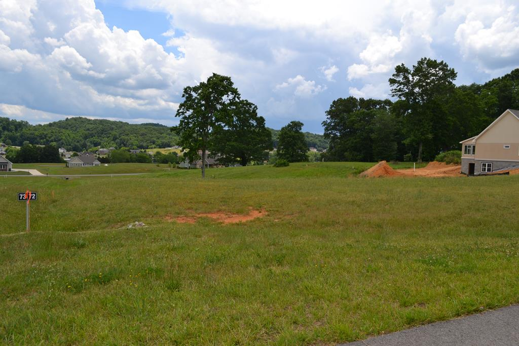 Exceptional views of the mountains and a convenient place to build your dream home. This subdivision is a newer and very desirable neighborhood - This lot contains 1.03 acres of rolling, sloping property with underground utilities, natural gas and internet access.  The owners have had the lot surveyed and staked. They have also paid for the sewer tap and have paid for the water tap to the property. I you are planning to build, look no more. This property is ready for construction!