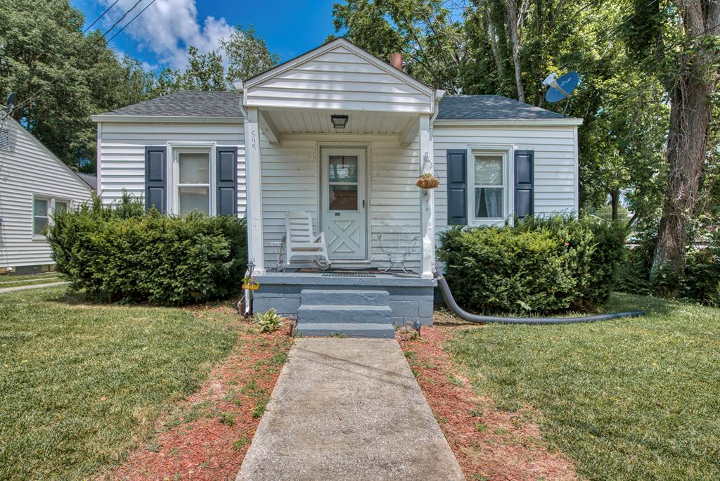 This cute little bungalow is right in the heart of Abingdon Virginia!  This 2 bed, 1 bathroom home has a nice, flat lot and is just a hop and a skip to everything downtown Abingdon has to offer.  The features of this home include off street parking in the rear, vinyl siding, and also bonus space in the basement!