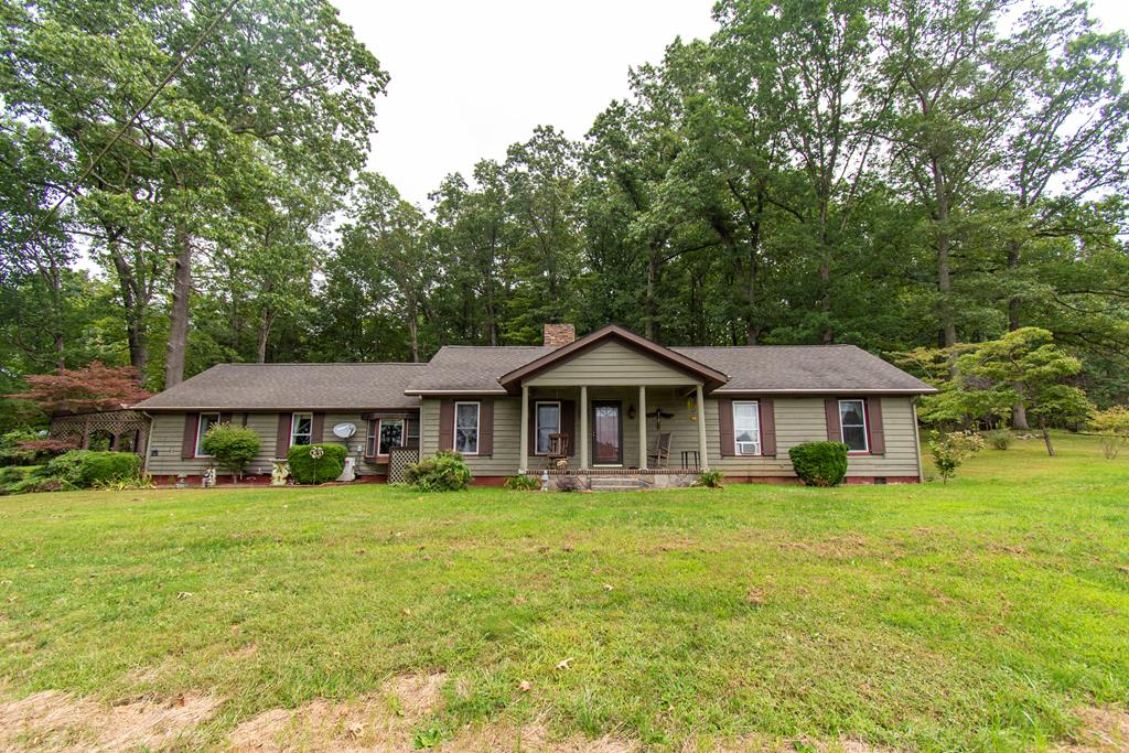 Beautiful home right out side Galax city limits. Plenty of yard space and outside entertainment areas, paved driveway, and gorgeous landscaping. High ceilings in the living room and master-bedroom . Two true master- bedrooms on one level. This home is such a rare find! granite counter tops in the kitchen. Large Den with slate floors. Sun room that walks out to patio area, this home is a dream come true.