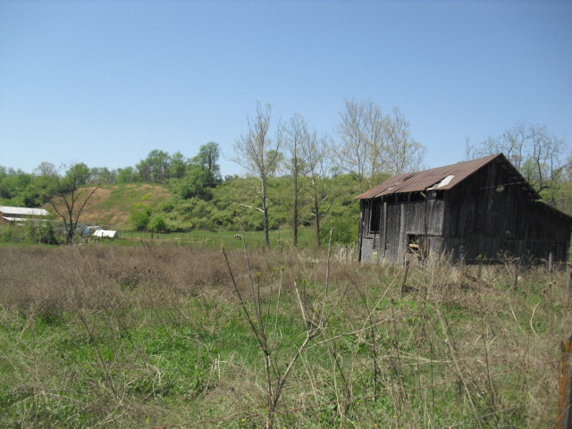 HERE'S YOUR CHANCE TO OWN A MINI FARM.  SEVERAL BUILDING SITES AND A SMALL CREEK ON THIS PROPERTY.  OLD BARN AND SOME FENCING.