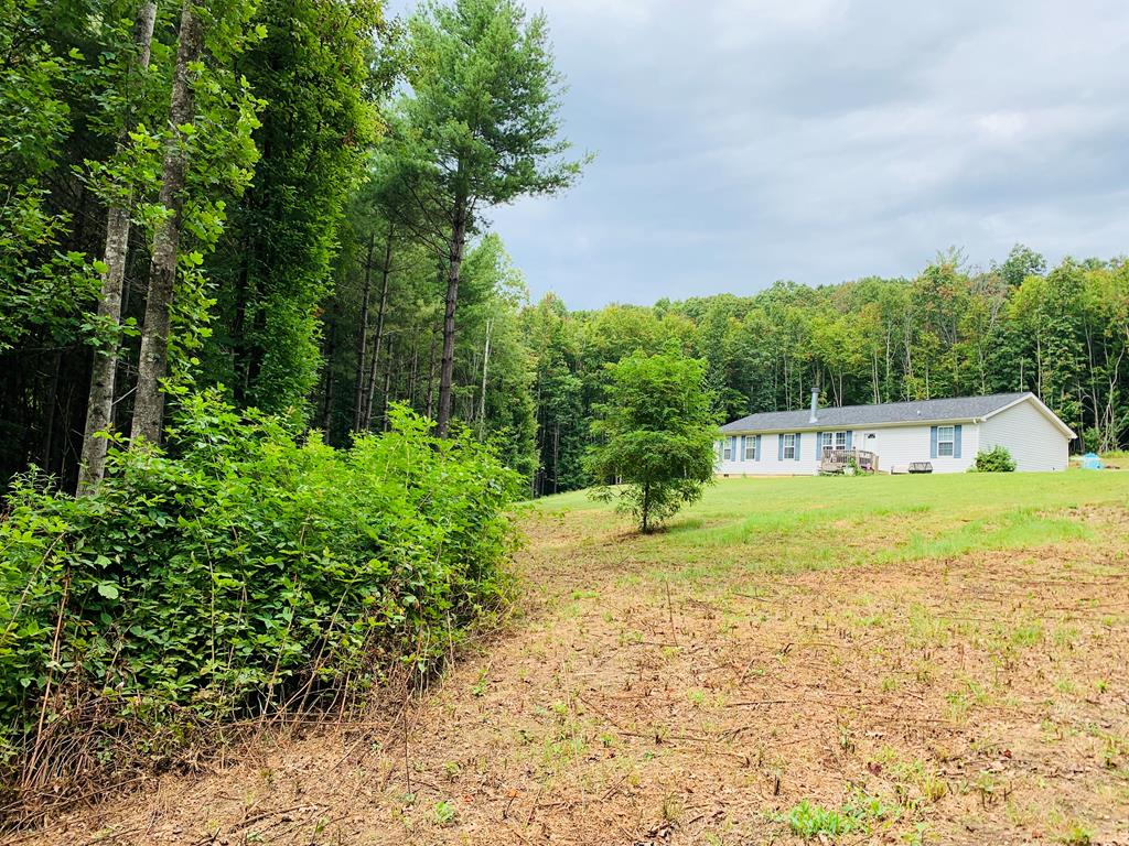 """Nice 3 bed 2 bath home on a secluded 2 (+/-) acres with a detached metal garage. This home is located in a desirable area in Woodlawn, VA just a few minutes away from Galax and I-77. Features include all one level living, laminate floors, heat pump, walk-in shower, walk-in closet, and a """"retreat"""" area in the master bedroom that would make a great nursery or home office."""