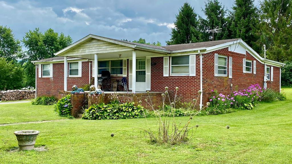 """Fixer-upper with tons of potential! This 3BR, 2BA home with ten total rooms and 1,584 square feet needs some attention but look at the possibilities once you are through! Located in Smyth County's Rolling Hills Drive development. Amenities include: brick exterior, heat pump, front and back porches, level lot, oversized 0.44 lot, public water, public sewer is available. The house needs a new roof and there is some interior ceiling damage from leaks in heavy rain. Floor needs reinforcement in places. Seller selling """"as is, where is"""" and no repairs will be done by the seller. Cash, Conventional, or FHA 203(k) only. This will make a great residence or rental once needed repairs are completed. Priced tens of thousands below assessment. Appointment only, specific times and days only."""