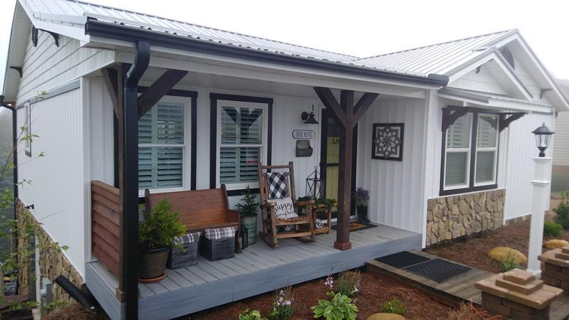 Impeccably remodeled inside and out.Shows like a new house. New metal roof, new vertical low maintainence siding, flooring, paint, new kitchen with granite counter tops. Fantastac new covered rear porch and deck. Too many New items to mention them all. Fantastic views are a big bonus. All this in a great community with many amenities including community water, pool, clubhouse, gazebo W/bbq, tennis, fishing ponds and more. Come and consider joining the Chalet High family for a friendly enviornment. Whether looking for full time residence or just a mountain retreat, Chalet High offers a wonderful lifestyle. Come see what WOW looks like. Miles of private roads to ride your golf cart to enjoy the Piedmont view from many locations or enjoy hiking through the neighborhood. Buyer should verify internet availability with Century Link or Fast Link or satilite.