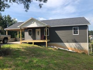 Brand New Construction!! Almost finished 2 bedroom/2 bath home in Galax! Granite counter tops, full walkout basement, and great views from large rear deck.