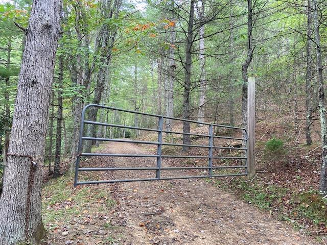30.02 acres of woods with a creek flowing through it and joining Jefferson National Forest on 2 sides. Located just on I-77 and behind a locked gate with a road up through the middle for convenience. If you are looking for a place to hunt or just a getaway.... this is it.  If you are a horse lover..national forest trails in the area.