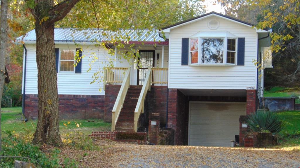One level ranch with full basement & drive under garage. Two bedrooms, 2 baths, living room, dining room, family room & spacious kitchen. Open floor plan. Plenty of space in the basement for future expansion or to us as a workshop. Private setting located just minutes from I-81 and JMH.
