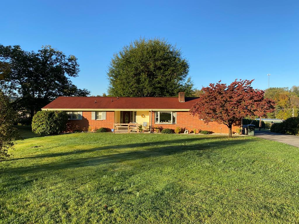 If you are looking for one level living with easy access, this brick ranch should fit your needs.  This is an in town location near Glenrochie Country Club.  Three bedrooms, two baths and a partially finished basement.  Also has attached two car garage.