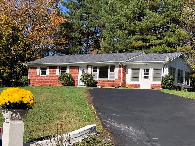 Located just minutes from Galax on 3+ private acres, joining stream at rear. 3 bedroom, brick home has just been remodeled and ready to move into. Home features like new hardwood floors, new Trane central A/C. Remodeled kitchen with new  counter tops, floors, new stainless appliances, remodeled bath, new fan/ceiling fixtures/lighting throughout, partially finished full basement, large private deck and more!