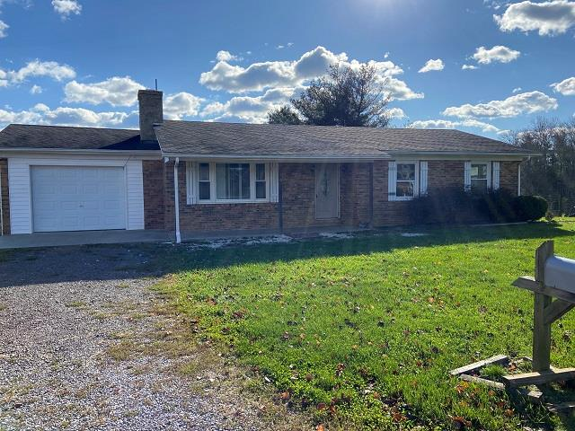 Newly remodeled Three bedroom and 1 full bath Ranch Style home providing 1,173 sf of upper level living space featuring  low maintenance brick exterior  new laminated flooring, new paint in Sept 2020  newer windows, roof and doors  New heat pump in Oct 2020  1 car (20' x 15') 300 sf adjoining garage  full basement provides 1,173 sf of storage space or could be converted into additional living space for a total of 2,346 sf of finished living space  well and septic  Newly stained deck  lot size 20,000 sf (almost 1/2 acre) room for garden and pets  located in established neighborhood with hard surface road frontage  within walking distance of grocery store and close to New River Trail. Check out these acquisition options:  100% financing for VA or USDA qualified purchasers and  lease/purchase option available @ $750 a month with $100 of the monthly amount going towards purchase price of $129,000 within the 1 year.  Contact Kyle Realty for showing or additional details