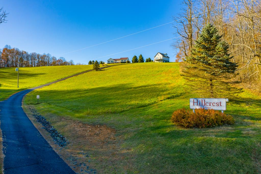 Beautiful and quiet country property overlooking farm and distant view of mountains. Property is cleared with fescue grass ready for building.  Property offers easy access to Hillsville, Blue Ridge Parkway, Interstate 77 and State Road 52 and 58.  A true must see in a gorgeous area.