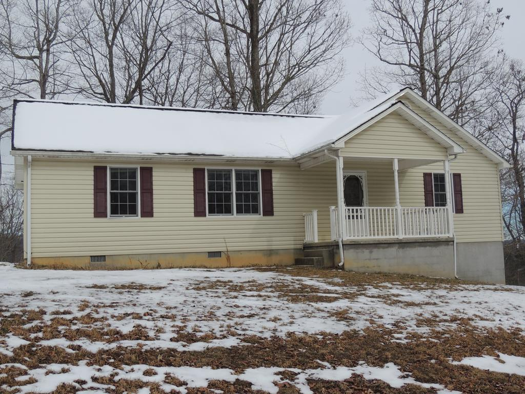 CHECK OUT THIS 3 BEDROOM, 2 BATH, 1248 SQ, FT RANCH SYTLE HOME. PROPERTY FEATURES: HARDWOOD FLOORS, STAINLESS APPLIANACES, WALK IN CLOSETS IN ALL THREE BEDROOMS, 96 SQ. FT. FRONT COVERED PORCH, 192 SQ. FT. BACK DECK...ALL ON 3.82 ACRES. PROPERTY FEATURES A CRAWL SPACE THAT MORE LIKE A BASEMENT.