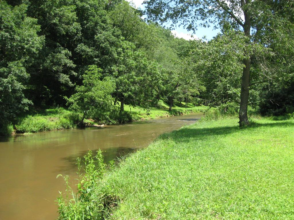 THIS PROPERTY IS AMONG THE BEST CREEK FRONTAGE PROPERTIES YOU CAN FIND IN TERMS OF CREEK SIZE, ACCESSIBILITY, AND VIEW FROM HOME SITE, WITH GREAT FISHING AND TUBING ADVENTURE POSSIBILITIES. FOR THE FISHERMAN WHO DREAMS OF FISHING IN HIS OWN CREEK, THIS IS YOUR OPPORTUNITY WITH OVER 500 FEET OF PRIVATE CREEK FRONTAGE. THERE ARE SEVERAL GOOD BUILDING SITES AND ONE OF THE LOTS COULD BE SOLD OFF IF DESIRED. GREAT POTENTIAL HERE TO DEVELOP A TOP-NOTCH CREEK FRONT ESTATE.