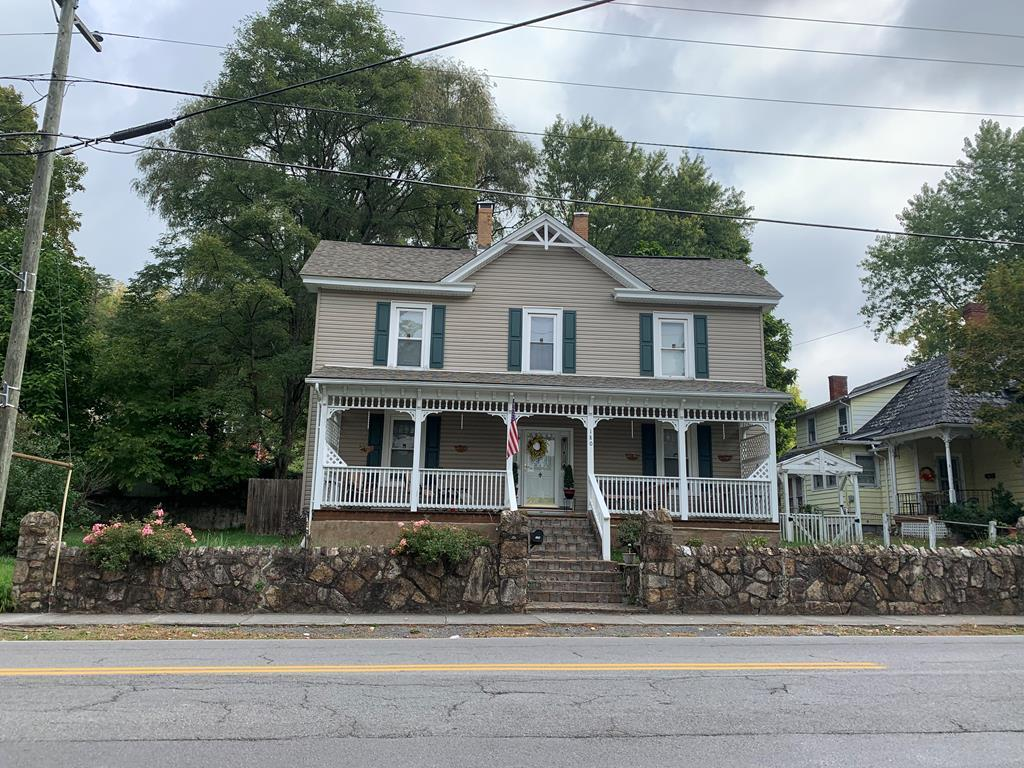 Built in 1885, this home offers much of the original woodwork, 4 bedrooms, 2 bath, arts and crafts room upstairs, has a beautiful staircase from foyer, Conveniently located to Main Street Tazewell, shopping, schools, and hospital.