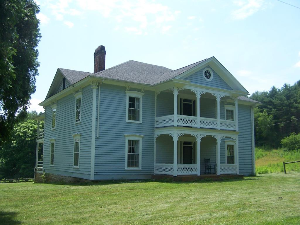 Historic Charmer!  This spectacular home is situated on 5 acres of open pasture with a pond, a barn with stalls for multiple animals and plenty of room to have your own mini-farm.  The interior is very spacious offering very large rooms, and would make a great home for a growing family, or a very attractive bed and breakfast.  There are no neighbors in sight, which gives you a nice private setting so that you are not disturbed, however, you are only a short drive to either the Town of Independence or City of Galax.  Not to mention it is only  @5 minute drive from public access to the New River!  You don't come across properties like this every day, and its just waiting for the right new owner who can appreciate all the unique character and charm this property has to offer.  Furnishings have been removed but seller would consider selling some of the items.