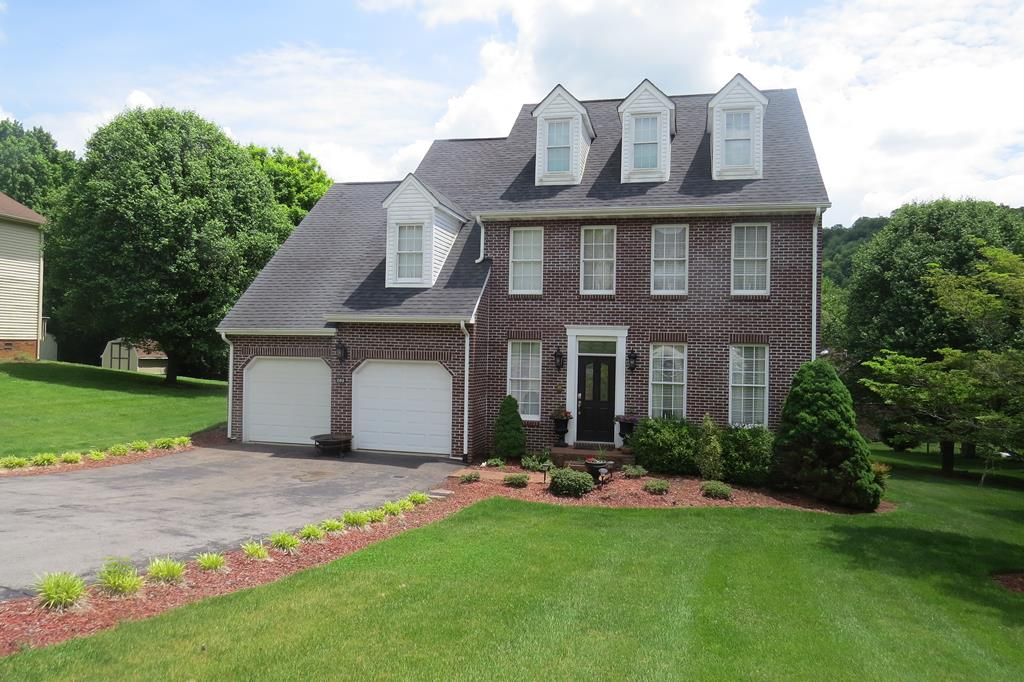 Talk about Location! This beautiful  Brick  Home in Country Club Estates is located near the Virginia Creeper Trail, Glenrochie Golf Course and Historic Down Town Abingdon, VA! Great Floor Plan includes a Formal Living and Dining Room along with a White Kitchen/Den combination. All Appliances were replaced by current owner. The Large Master Suite has a Walk in closet, Dressing Area or Office, Large Bath with 2 sinks, lots of counter space, jet tub, new tile and separate shower. 2 other Bedrooms and a Large Bath complete this level. Lowest level is finished family space and currently used as a 4th Bedroom. New large walk-in custom closet and a full bath make this a great option for an adult child or in-law. Watauga Elementary School. Home has it's own Greenhouse. Glenrochie Country Club nearby has Swimming, Dining, Golf and Tennis.