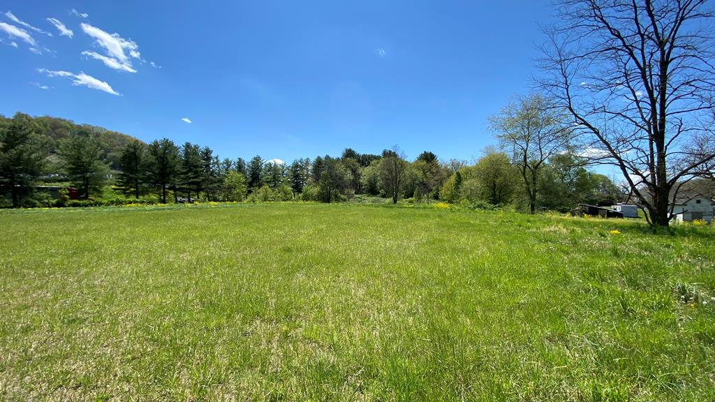 A blank slate for this commercial two-acre lot located directly between Route 11 and Interstate 81.  This lot is clear and mostly level-would be suitable for numerous uses. This exit includes Utility Trailer Manufacturing, Smyth County Machine and Welding, Circle K, and Exxon. Easy access off the three major roads with potential entrances onto Route 11 and/or Nicks Creek Road. You'll be hard pressed to find a lot with easier access from and back to I-81. Public water and sewer available.