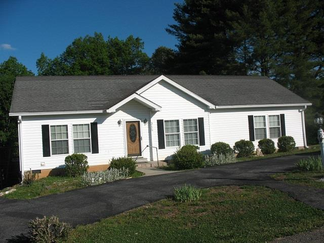 Move in ready 3 bedroom 2 bath home on a quiet dead end street. Home has laminated hardwood floor in living room, dining room and bedrooms. Storage building stays with home. Central heat and air . Major appliances stay. Extra clean. Close to hospital, New River Trail, shopping.