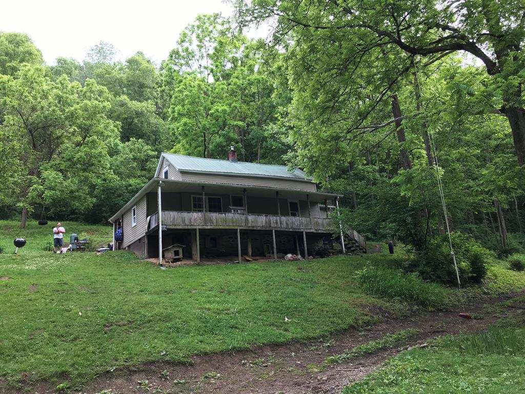 Hunter or Fisherman's getaway. If you are looking for river frontage, privacy, nature & room to roam on 40 acres this is it. Over 700 ft of River frontage on the North Fork of the Holston River.  Remodeled older home with most recent being newer paint, flooring, and appliances. Fresh water spring on the property.  There is a abundance of deer, turkey, pheasants and citation small mouth bass are plentiful.   Acreage is mostly wooded. USE CAUTION, 4WD ONLY, PLEASE UPON ENTRY AND EXIT OF THE PROPERTY.