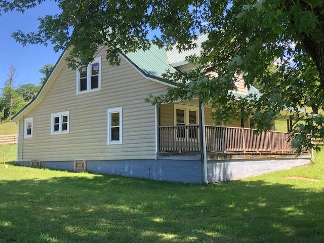 145 acre cattle farm in Woodlawn, VA. Property has remodeled farm house, barns, new fences and great views.