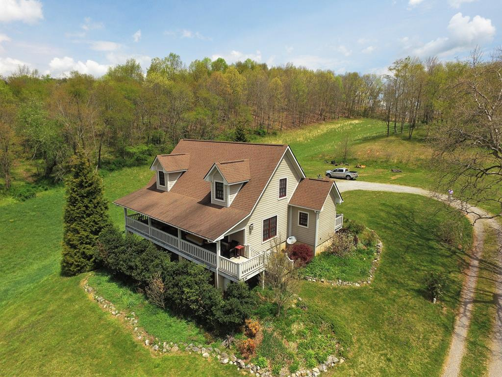 Nestled in the beautiful Blue Ridge mountains of Southwestern Virginia, only three miles from the quaint town of Rural Retreat lies 48.15 acres known as Sycamore Ridge Farm. Named for the stately Sycamore tree that majestically stands overlooking the property. This custom built Craftsman style home includes 3 bedrooms, 2.5 baths with an additional bedroom, bath and family room in the walk out basement. Amenities include custom cabinetry, granite countertops, new heat pump installed in 2021.  The abundant wildlife provides a daily show of turkey, deer, red tailed hawks, bald eagles eagles, and the occasional bear and coyote. The upper pasture is currently a horse pasture, having a three stall shed barn, and continuous fresh water running from  the overflow of the natural spring. The remaining acreage of pasture is currently mowed for hay. A small pond is located in the front pasture. Several trails suited for hiking, biking, horseback riding or 4 wheeling criss-cross  the wooded acres.
