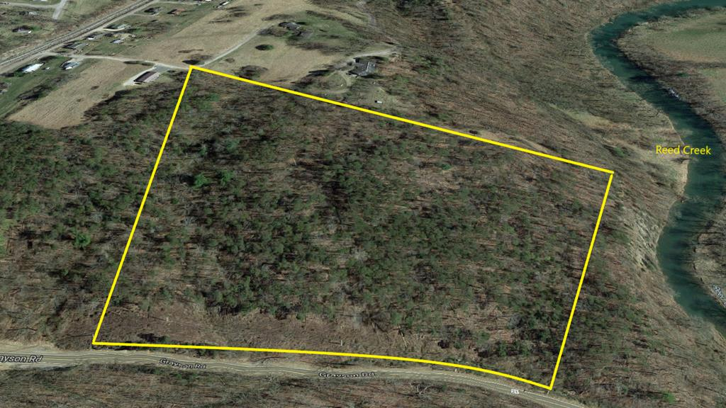 Over 10 acres with great views of the mountains in town of Wytheville with public water available. This property has a great building site that's elevated for view of sand mountain.