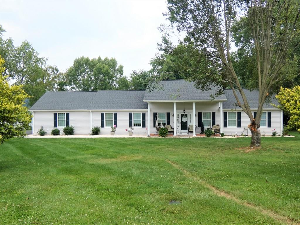 Gorgeous one level ranch on almost an acre level lot minutes from the Town of Abingdon in one of Abingdon's most elite subdivisions. This home has been beautifully updated with a spectacular open kitchen, living room, and dining area. Bring all the family in for Christmas Dinner! There is plenty of room to entertain! Three bedrooms, two and one half baths, cozy tiled sunroom, and lots of special touches make this a must see!