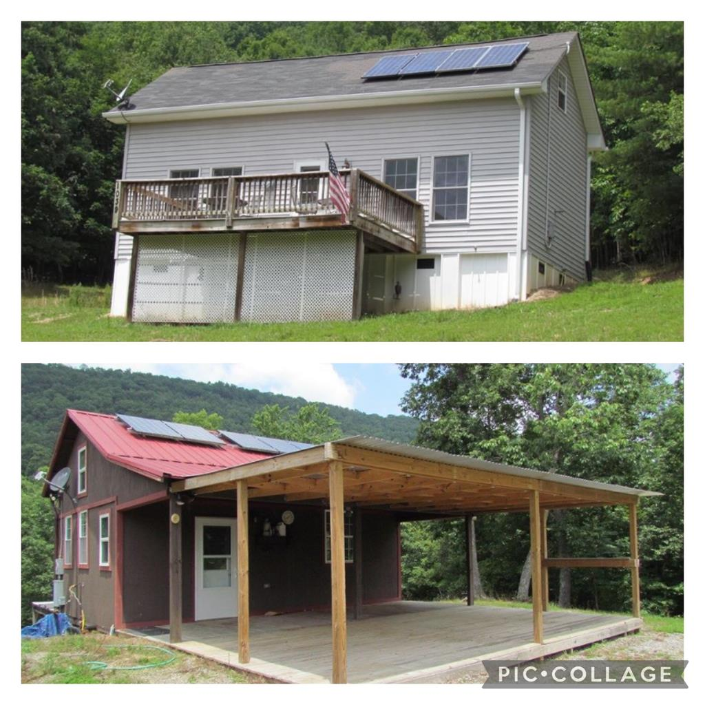 """Are you looking for a great place to unwind, hunt, hike & enjoy being off the grid? Then look no further! This 91 acre tract includes 2 """"off the grid"""" homes that have an artesian well, solar power, propane, and a generator. One home is approximately 1000 sq/ft & the other is roughly 500 sq/ft. This would be perfect for a hunting property or weekend getaway. There are trails throughout the property & wildlife abound. It's peaceful, it's private & it can be yours. Schedule your showing today!"""