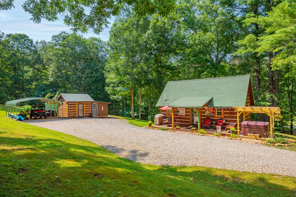 Check out this immaculate cabin on 50 acres! Located less than 15 miles outside of Wytheville, this property is the perfect balance of seclusion and convenience. This 2 bed 1 bath home has been completely renovated with high-end appliances, gas double oven, custom cabinetry, new heat pump and more. Sitting on a sprawling 50 acres makes this wooded paradise perfect for nature lovers who want a modern home. There are multiple trails that wind through the property, stopping at berry bushes, feed plots, hunting blinds, and camping spots. This property is truly one of a kind and is ready for its new owner. Call to set up your showing today!