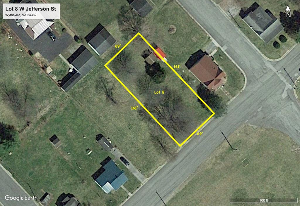 Excellent building lot in downtown Wytheville. Great size for the price. Zoned R-3, which opens up your options into multi-family units. Call for more info today!