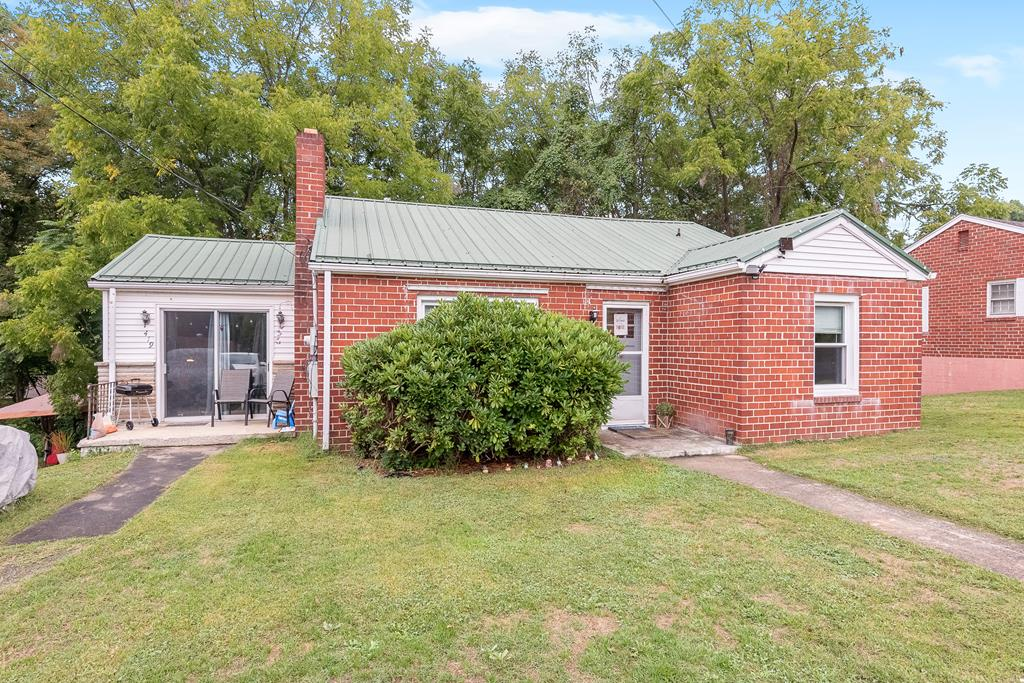 Cute starter home or investment property for rental.  Home sits on a dead end street....great for children!  Full, unfinished basement for living area expansion or storage.  Home has been a rental for several years but well maintained.  Roof replaced about 2010.  Windows are vinyl double-paned.  Current air conditioning units belong to renter and do not stay with the house. The renter requires notice the prior day for all showings.  SUPRA lockbox is on front door.