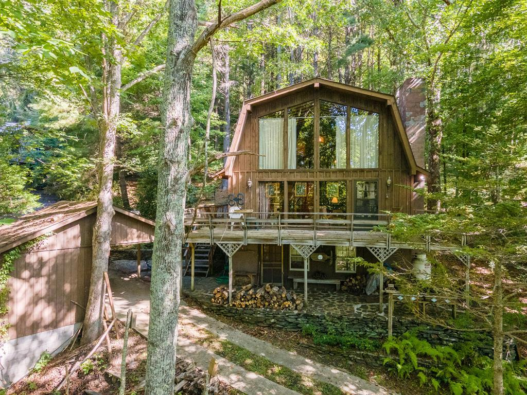 Fully furnished mountain home in picturesque Floyd County VA. Enjoy the peaceful woodland setting in a quiet, dog friendly community less than a mile from the Blue Ridge Parkway. Picnic in your own sunny pasture with mountain views.  Great location for yourself or your guests to enjoy the Blue Ridge Mountains and all that Floyd has to offer.   10 minutes to Mabry Mill and Chateau Morrisette.  35 minutes to Primland and only 25 minutes to downtown Floyd.