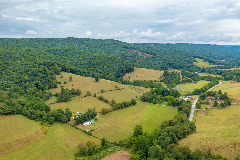 What an amazing mini farm in a great location in Bland County, VA not far from the VA/WV state line! Beautiful views from this +/-50.5 acres with several hundred feet of creek frontage on Clear Fork Creek. Two homes on the property, one a 3 BR 2 BA double wide built in 1980 consisting of approx. 1340 finished sq. ft. and the other, a 3 BR 2 BA single family home built in 1993 consisting of approx. 1044 finished sq. ft. Shared well but each home has their own septic. Great for cattle, horses, hunting, riding, the list goes on! Easy access from Clear Fork Creek Rd. and bridge is in great shape. This property is gorgeous! No drive-bys please, shown by appointment only.