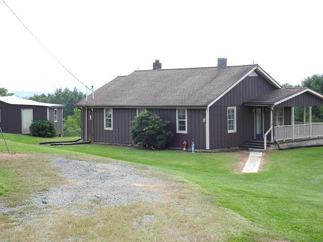 2 Bedroom, 1 Bath home with 6.85 acres in the Fairview area of Grayson County. Bring your horses and all the animals, this mini farm has a few fruit trees with some pasture and wooded area with a small stream. This property is a little Country Charm and is convenient to downtown Galax, New River, New River Trail,  Blue Ridge Parkway, and the Blue Ridge Music Center.