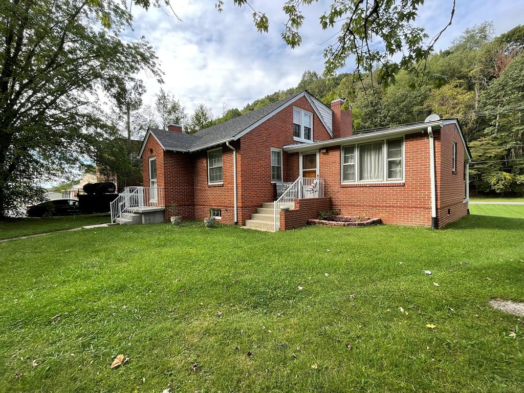 Nice 3 BR brick home in Marion! Large open living room with wood burning fireplace and hardwood floors. Dedicated dining room as well as a den/family room with gas log fireplace! Updated second bathroom with tile shower. Nice full basement that can be finished for additional living space. Paved driveway and large backyard. Good location close to town and I-81!