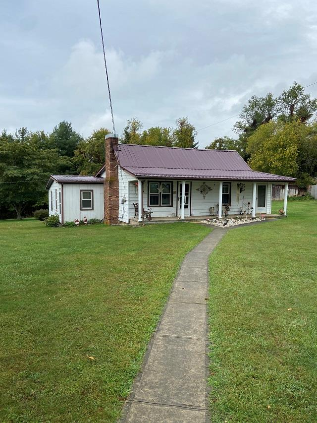 Great for starting out or rental investment! Clean, 3 bedroom, 1 bath with newer metal roof. Just outside town limits of Hillsville.