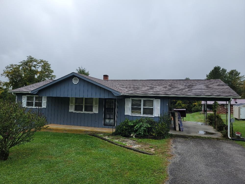 Location Location Location!  Well built ranch style home offering 3 bedroom 2 bath in Galax City being the last home on a dead end street with no through traffic. Full unfinished basement. 1- car carport with paved driveway. Within walking distance to public library, public schools, recreational department, medical center and grocery stores.