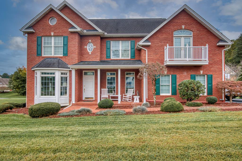 TIMELESS BRICK HOME located in the prestigious and sought after neighborhood of Worthington Place minutes from downtown Abingdon! This home features an elegant open floor plan, soaring ceilings, gas fireplace, wine cooler in the kitchen, back deck overlooking the neighborhood and a lovely balcony right off the master bedroom. The natural light throughout the home is everything you could want and more. This home features three bedrooms, two and a half baths and a laundry room on the second floor! The master bedroom offers two walk-in closets, double sinks and a jacuzzi tub to unwind after a long day. Last but not least, the basement offers a great workshop with plenty of storage. This home is a must see! Schedule your showing today!