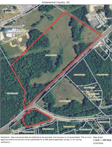 50 ac ByPass 72 NW, Greenwood, SC 29646
