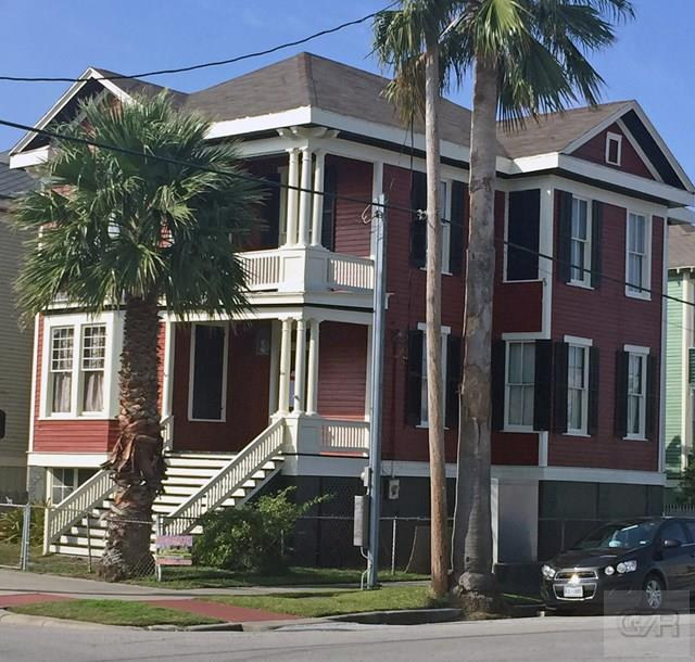 House for sale at 1402 Market Street in Galveston TX