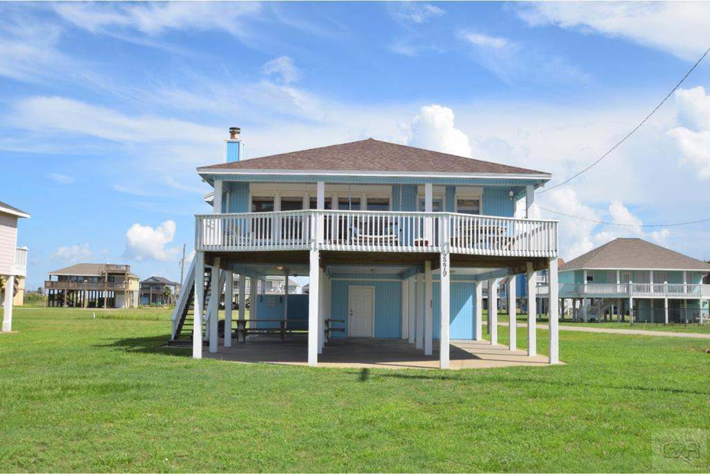 House for sale at 2279 Trinidad Drive in Crystal Beach TX