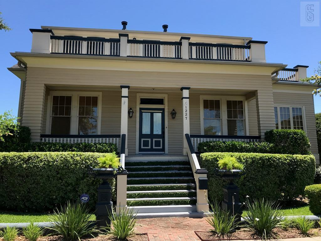 House for sale at 1227 Ball Street in Galveston TX