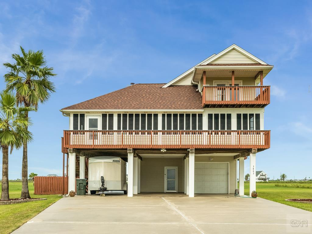 House for sale at 3803 Kiva Road in Galveston TX