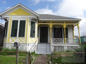 House for sale at 3524 Ball Street in Galveston TX